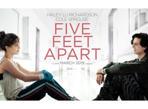 Five feet apart, film about Cystic Fibrosis