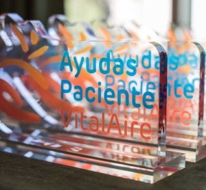 Premio Ayudas Paciente Vitalaire 2019 a la Fundacion Respiralia