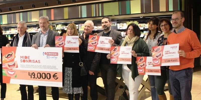 Campaña Mide Sonrisas 2019-2020 de Eroski