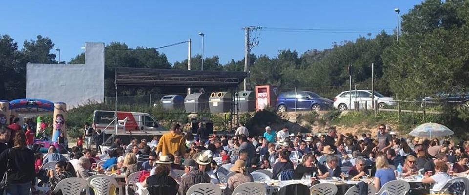 Paella solidaria Sant Antoni de Portmany 2020