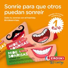 Campaña Mide Sonrisas de Eroski
