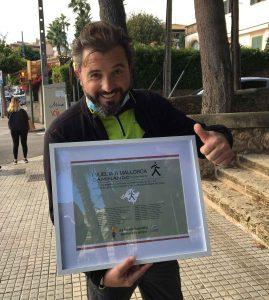 Javier Gutiérrez finaliza su reto por Respiralia