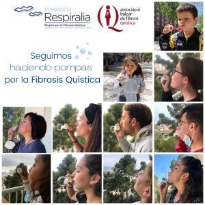 Campaña Pompas por la Fibrosis Quística