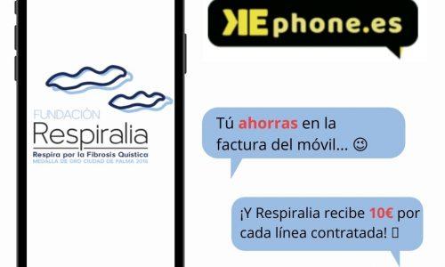 KEphone con Respiralia