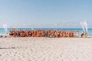 XXI Vuelta a Formentera nadando contra la Fibrosis Quística